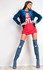 Silvie Velvet Jogger Jacket Thumbnail