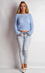 Kimmy Acid Wash Ripped Skinny Style Jeans Thumbnail