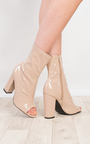 Brooke Patent Heeled Ankle Boots Thumbnail