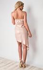 Emma Asymmetric Shimmer Dress Thumbnail