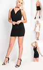 Carovie Slinky Bodycon Mini Dress Thumbnail