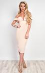 Raelyn Off Shoulder Bodycon Dress Thumbnail