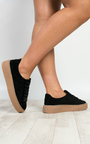 Breza Faux Suede Platform Shoes  Thumbnail