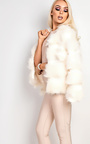 Savannah Faux Fur Jacket Thumbnail