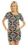 Avaya Printed Shift Dress Thumbnail