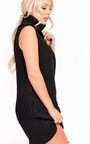 Kelly Knit High Neck Sleeveless Jumper  Thumbnail
