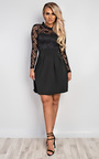 Anyelle Lace Skater Dress Thumbnail