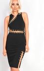 Lacey Chain Bodycon Dress Thumbnail