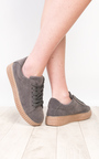 Marissa Faux Suede Platform Shoes  Thumbnail