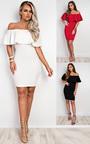 Tanaya Off Shoulder Bodycon Dress Thumbnail