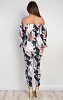 Janie Floral Off Shoulder Co-Ord Thumbnail