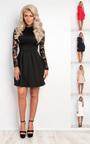 Nika Lace Skater Dress Thumbnail