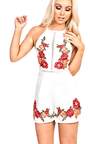 Della Embroidered Playsuit Thumbnail