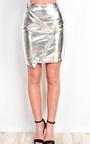 Aidrianna Metallic Skirt  Thumbnail