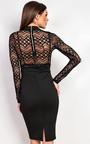 Nelli Bodycon Midi  Dress Thumbnail