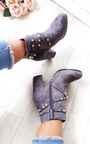 Mabel Studded Ankle Boots  Thumbnail