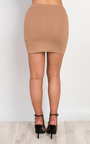 Brihanna Basic Mini Skirt Thumbnail