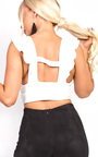 Lillz Frill Crop Top  Thumbnail