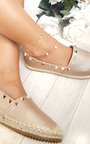 Ana Infinity Pearl Anklet  Thumbnail