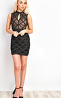 Arisha Bandage Bodycon Dress Thumbnail