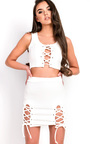 Niah Lace up Co-ord Thumbnail