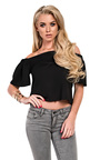 Alby Stretch Crop Top  Thumbnail