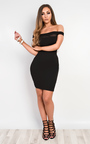Solana Mesh Bodycon Dress Thumbnail