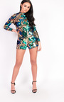 Melissa Sequin High Neck Playsuit Thumbnail