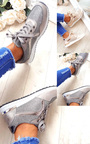 Maya Mesh Two Toned Panel Trainers Thumbnail