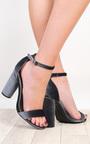 Evelyne Velvet High Heels Thumbnail