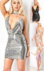 Kate Sequin Bodycon Dress Thumbnail