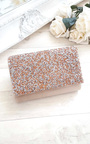 Rose Embellished Clutch Bag Thumbnail