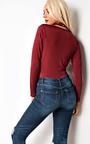 Emmalyn Choker Neck Bodysuit  Thumbnail