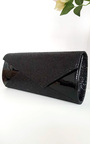 Verity Sequin Contrast Clutch Bag Thumbnail