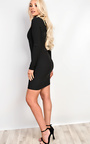 Ravenna Choker Neck Bodycon Dress Thumbnail