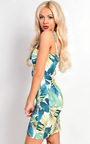 Renee Strappy Tropical Floral Dress Thumbnail