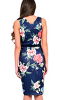 Tyler Floral Midi Dress Thumbnail