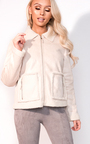 Jess Faux Fur Shearling Jacket Thumbnail