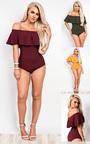 Mya Off Shoulder Bodysuit Thumbnail