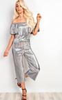 Shayla Metallic Ribbed Jumpsuit Thumbnail