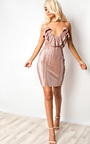Sherri Ribbed Bodycon Dress Thumbnail