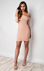 Imogen Off Shoulder Bodycon Dress Thumbnail