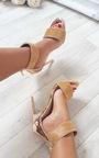 Donatella Diamante Strap Heels Thumbnail