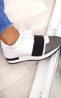 Bali Mesh Two Toned Panel Trainers Thumbnail