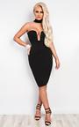 Elisia Choker Neck Bodycon Dress Thumbnail