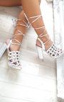 Carmen Studded Caged Block Heels Thumbnail