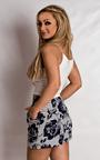 Magdalen Patterned Shorts Thumbnail