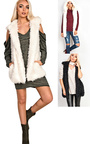 Sylvia Faux Fur Gilet  Thumbnail