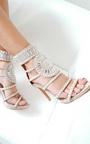 Kimberly Diamante Studded Heels Thumbnail