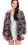 Leyla Faux Fur Jacket Thumbnail